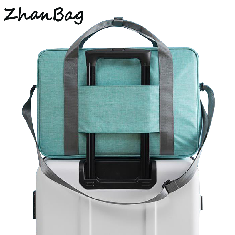 Foldable Big Weekender Bag Travel Organizer Women Portable Ladies Casual Large Capacity Business Soft Waterproof Travel Bags 332