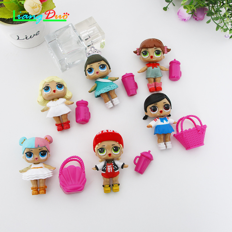1PCS lol For Girls Random delivery lol Doll toy Baby Color Change Dolls Action Figure Toys Kids Gift
