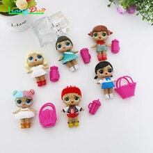 2PCS Willekeurige lol For Girls Random delivery lol Doll toy Baby Color Change  Dolls Action Figure voor Meisjes speelgoed