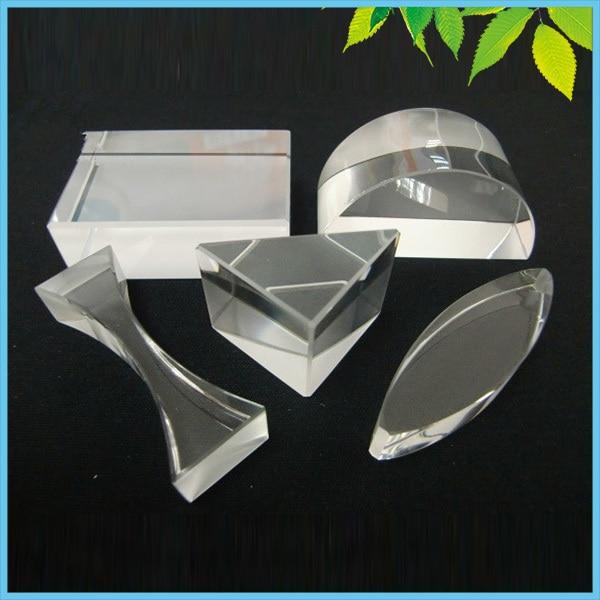 5 PCS/LOT prisme en verre optique ensemble prisme éducatif ensemble physique enseignement lumière spectre prisme
