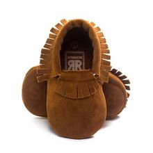2019 PU Suede Leather Newborn Baby Boy Girl Moccasins Soft Shoes