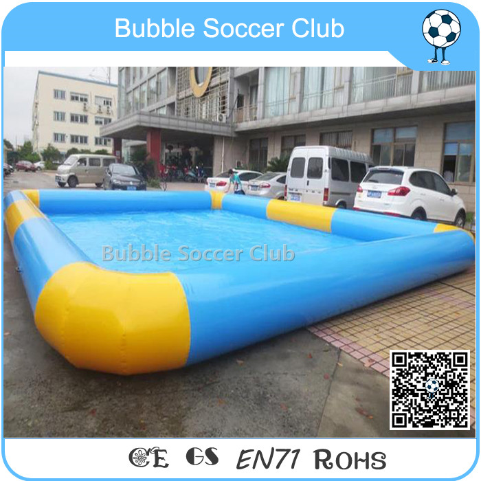 TOP Sale Commerical 6X6M Large Deep Inflatable Swimming Pool for Adults Kids Water Sport Games
