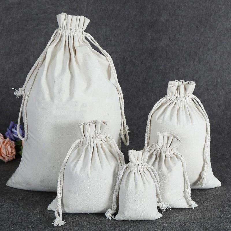 2019 High Quality Drawstring Bag Cotton Bag  High Capacity Bags 55.5x89.5cm