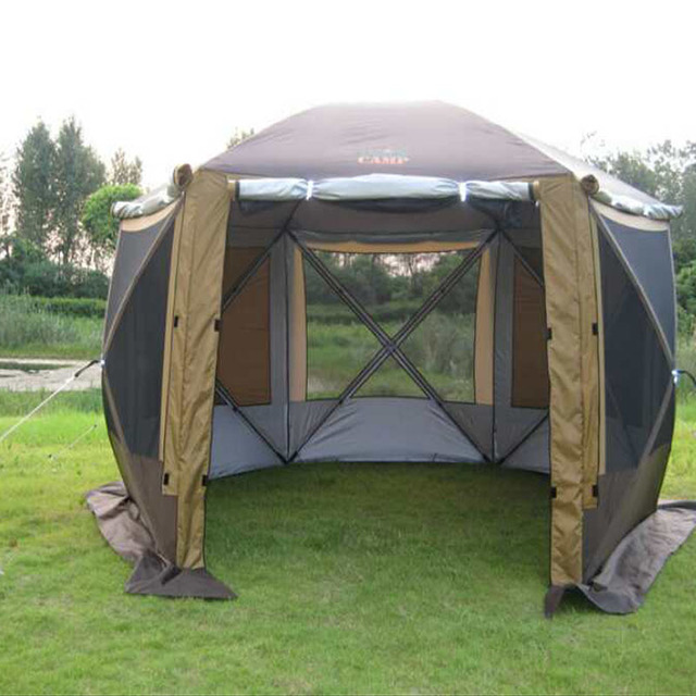 2017 mimir new portable yurts family team many people for Ice fishing tents