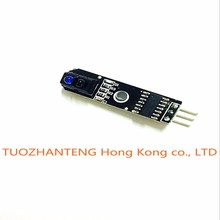 10pcs 1 channel tracing module/ 1 way Intelligent Vehicle TCRT5000 tracker sensor probe infrared for arduino