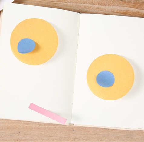 Bloc de Style Simple créatif bloc de Notes autocollantes bloc-Notes bloc-Notes papier kraft pour travaux pratiques papeterie fournitures de bureau scolaire