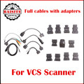 Full Set VCS Cables with Adapters For VCS Vehicle Communication Scanner Interface For VCS SCANNER Interface car diagnostic Cable