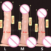Powerful Plus Size 10 Speeds Silicone Heating Artificial Penis Suction Dildo Vibrators Sex Toys For Woman