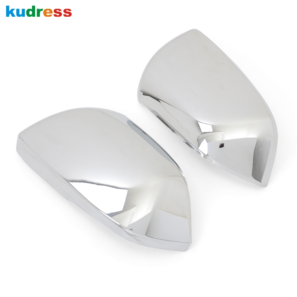Car Accessories For Volkswagen VW Teramont Atlas 2017 2018 ABS Chrome Car  Styling Rearview Side Door Mirrors Cover Trim 2 pcs
