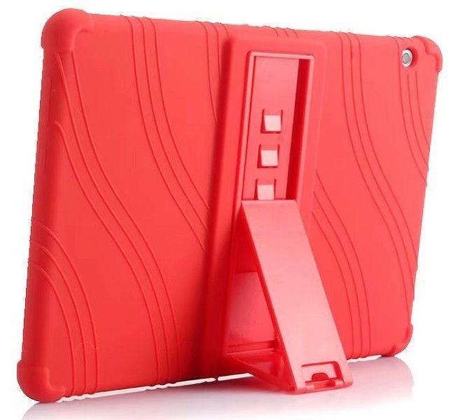 À prova de choque suporte De Silício de Volta Caso Capa Para O Huawei MediaPad T3 10 AGS-W09/L09/L03 9.6