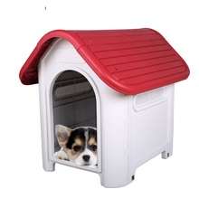 Eco-friendly  plastic dog house waterproof kennel indoor/outdoor dog kennel kennel