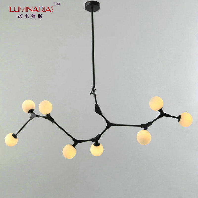 Nordic Modern DNA Molecule Pendant Lamp Art Decoration Pendant Light Suspension Dinning Room Study Room Light AC 110V 220V modern simple diy pendant lamp living room dinning room pendant light home decoration lighting ac 110v 220v e27