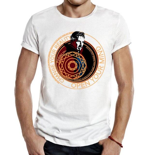 56c552ed2e5 Doctor Strange hombres Unisex camisetas clásicas películas Dr Strange  superhéroes marvel cumborbatch marvel Avengers COOL camisetas