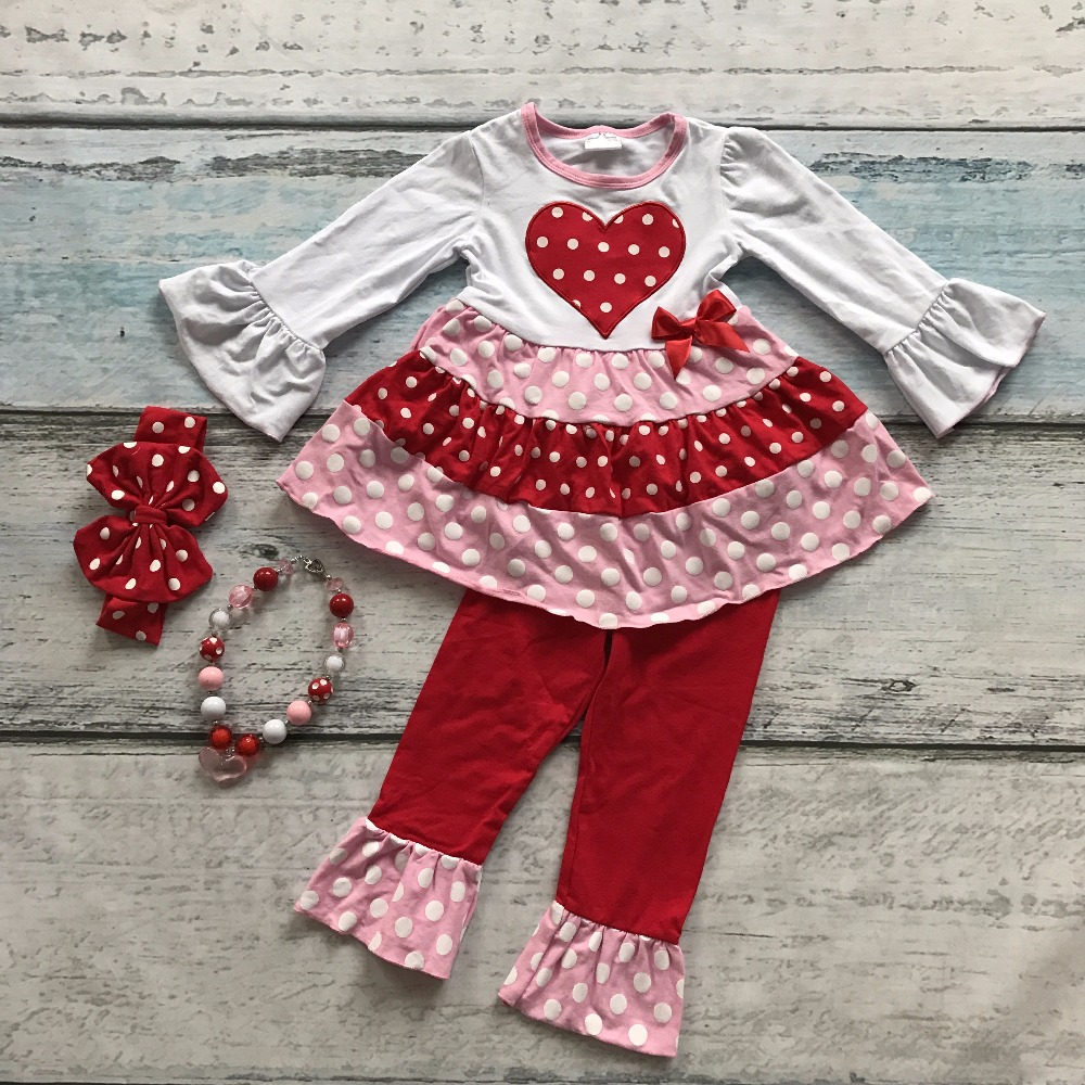 Wholesale Valentine S Day Bulk A Lot Baby Girls Outfits Kids