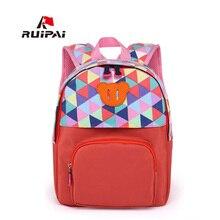 RUIPAI Lovely Kids School Backpack Schoolbag Satchel Comfortable Backpack For Kindergarten Polyester Backpacks for Girls