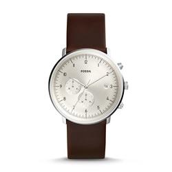 فوسيل ساعة كوارتز رجالية تشيس الموقت كرونوغراف براون ساعة جلدية فاخرة رجالي ساعات العلامة التجارية الفاخرة FS5488P