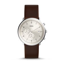 FOSSIL Men Quartz Watch Chase Timer Chronograph Brown Leather luxury mens watches top brand FS5488P