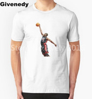 Дуэйн Уэйд Мужская и Женская Высокое качество Топы Хлопок Шею O T Shirt