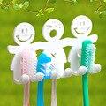 2016 Oferta Especial Produtos Grátis Conjuntos de Banheiro Banheiro Banheiro Titular Escova de Dentes Bonitos Otário Dos Desenhos Animados Rosto Sorridente Estande