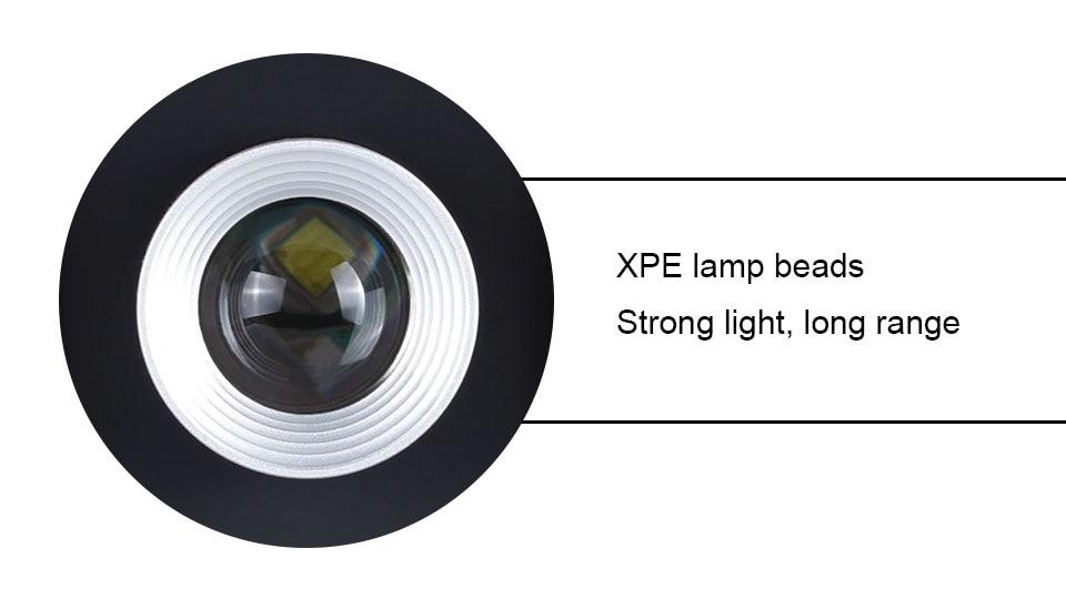 Portable Battery Rechargeable COB Led Light  (8)