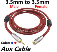 1M 3 5mm Audio Cable Fever Fidelity Stereo For TV Computer Speaker Audio Cable Signal Cable