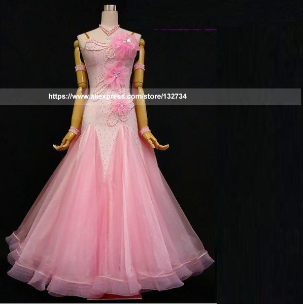 ddc826985 New Ballroom Dance Dresses Standard Stage Costume Performance Womens,Smooth  Ballroom Dress,Modern Waltz Tango,competition dress