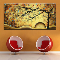 Large Size Printing Oil Painting Colorful Diamond Wall Painting Wall Art Decoration Picture For Living Room