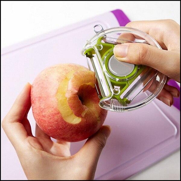by DHL or EMS 1000 pcs 3 in 1 Design Rotary vegetable fruit Peeler Grater Slicer