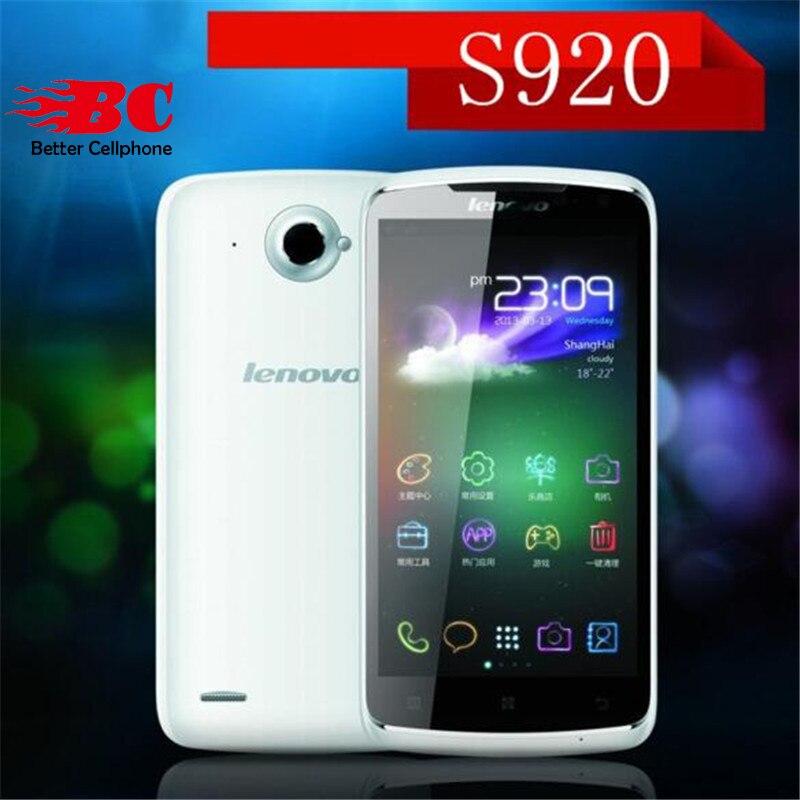 Original Lenovo S920 Android 4 2 MTK6589 Quad core 3G WCDMA Quad Core HD IPS Screen