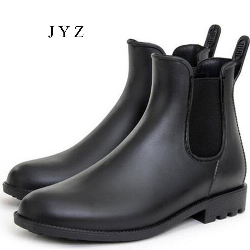 Fashion new mens rain boots fishing rain boots water shoes for Mens fishing shoes