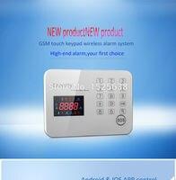APP GSM QUAD Band Personal Home Perimeter Security Pir Alarm Sensor Mms Rfid Touch Panel Keypad