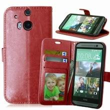 Capinha para Celular de couro + TPU case de telefone tipo carteira para HTC One M8 M8t M8s M8e Case capa para HTC One M8 M8t