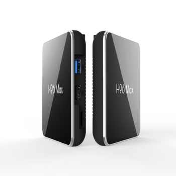 H96 Max X2 Smart TV Box Android 9.0 S905X2 Quad Core 4GB 64GB 5G WiFi USB3.0 H.265 Set Top Box Pk X96 MAX 4K media player