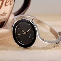 Топ Элитный бренд Мода кварцевые Для женщин женские часы Нержавеющая сталь браслет часы Повседневное часы Женское платье подарок Relogio Новый