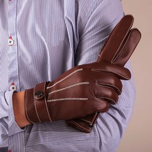 leather driving gloves mens