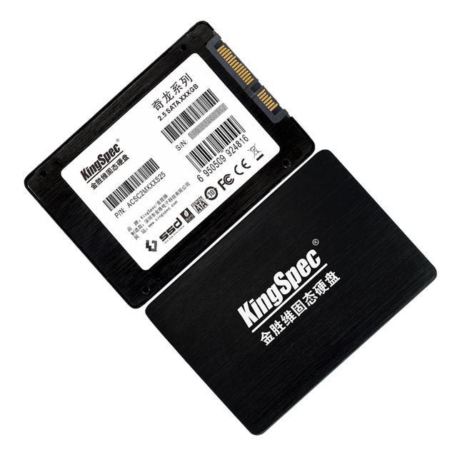 """Envío gratis marca kingspec 2.5 """"ssd 256 gb de disco duro interno con cremallera libre 2.5"""" para 3.5 """"SATAIII 6 Gb/S para el ordenador portátil y de escritorio"""