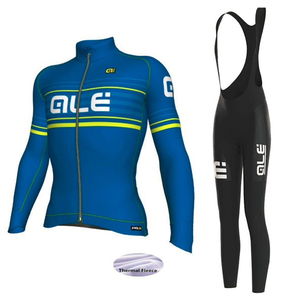 2018 New ALE Pro Team Cycling Jersey Set Racing Bike Jersey Men Quick Dry Breathable MTB Bicycle Cycling Sets + 9D Padded Shorts 2016 new arrivals hot men s cube cycling thermal fleece jersey bib pants sets pro team mtb bicycle clothing bicicleta bike k0709