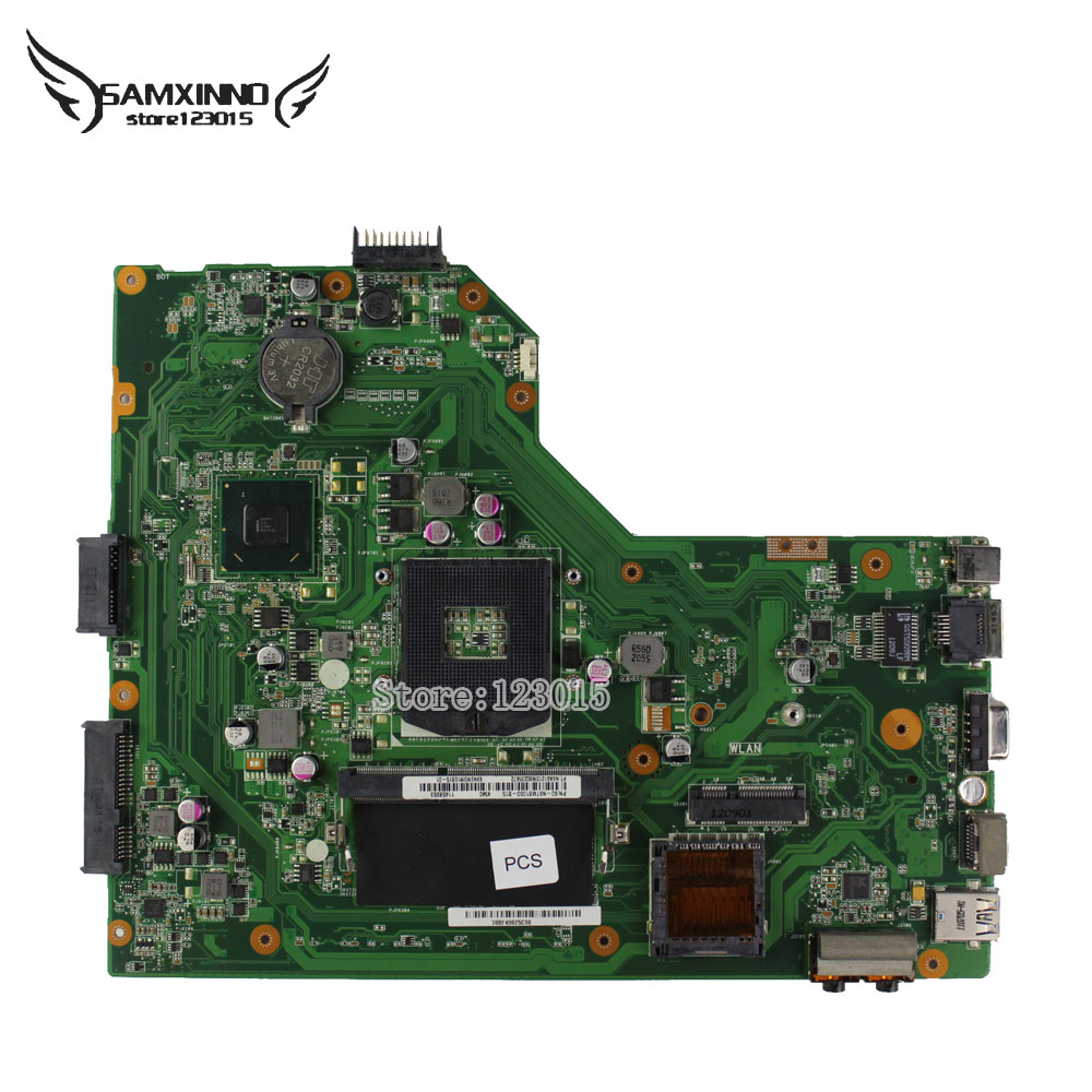 for ASUS Notebook Motherboard X54C K54C REV 2.1 System pc Mainboard HM65 video card Chipest PGA989 60-N9TMB1000 4GB tested ok  original notebook motherboard x54c k54c for asus rev 2 1 system pc mainboard with ram on board