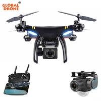 Глобальный Drone GW X5 gps Дроны с Камера HD WI FI FPV Дрон высота Удержание Follow Me RC камера квадрокоптера Drone В SYMA x8 X8G