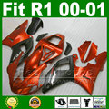 Fairings for YAMAHA  2000 2001 YZF R1 plastic kits YZFR1 00 01 YZF1000 bodywork fairing kit part U8Y7