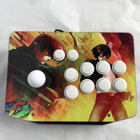 Red Arcade Joysticks Game Controller For Computer Game King Of Fighters