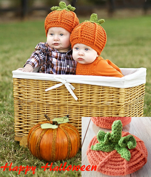 new fashion newborn baby costume photography prop carrot twins cute hat infant girl and boy knitted