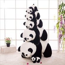 Cute Baby Big Giant  Panda Plush Stuffed Animal Doll Animals Toy Pillow Cartoon Kawaii Dolls Girls Gifts Soft