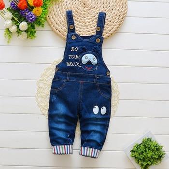 Fashion Cartoon Print Cotton Pants for Baby Girls 3