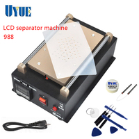 UYUE Screen Repair Machine Kit For IPhone For Samsung Latest 7 Inch Build In Pump Vacuum