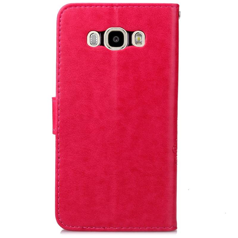 Lyxigt retro läder plånbok för Coque Samsung Galaxy J5 fodral J510 - Reservdelar och tillbehör för mobiltelefoner - Foto 5