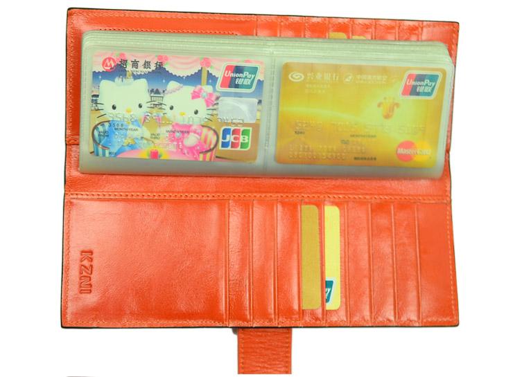 KZNI Carte Credit Leather 11