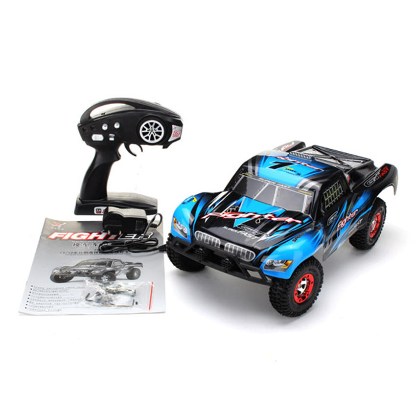 Car-Model Rc-Car Remote-Control Feiyue Fy01 Short-Course Blue/red Vehicle-Toy 4WD 1/12
