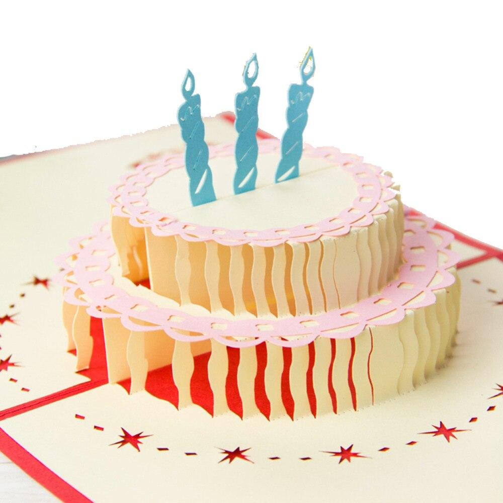 Мая, торты из бумаги открытки с днем рождения