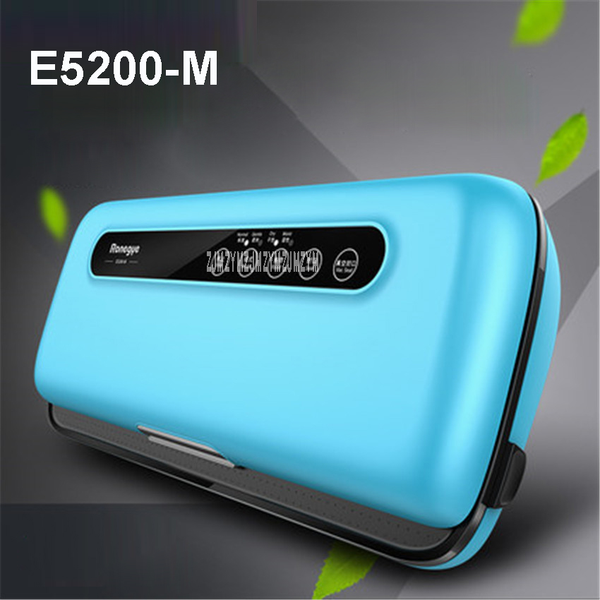 E5200-M 220V KitchenBoss sealer Empty Family Vacuum Automatic Sealing time 6-10 seconds Vacuum packaging machine Food Sealers 220v 220v full automatic electric vacuum sealing machine dry and wet vacuum packaging machine vacuum food sealers